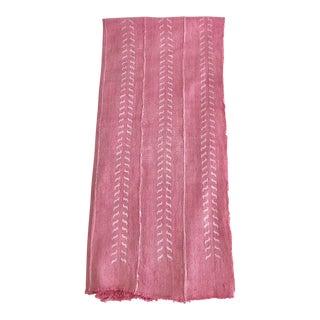 Millennium Pink Mali Mud Cloth Textile