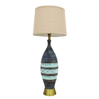 1960's Tribal Table Lamp