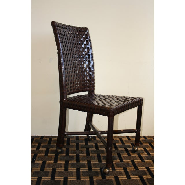 McGuire Antalya Side Dining Chair - Image 3 of 8