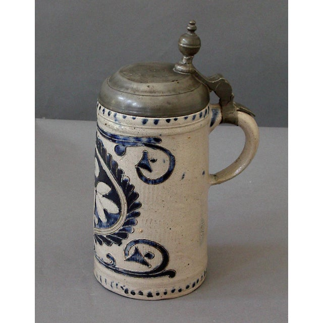 Image of Salt Glazed Westerwald Tankard (#72-31E)