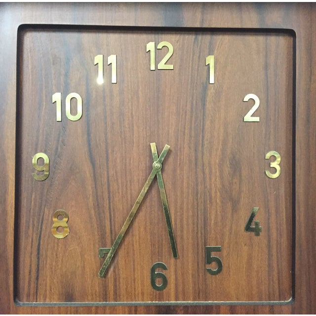 Danish Modern Grandfather Clock - Image 7 of 8