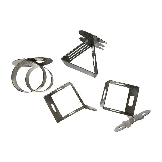 Image of Pasquier And Han Bodum Napkin Rings - Set of 4