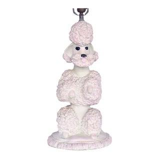 Phyllis Morris Sculptural Poodle Table Lamp