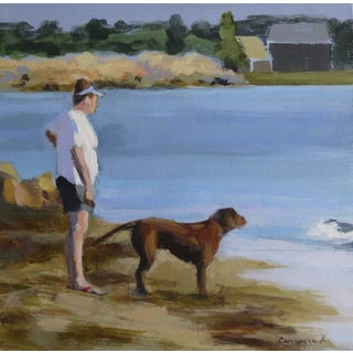 """Morning Walk"" Painting by Anne Carrozza Remick"