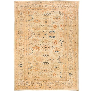 Exceptional Antique 19th Century Persian Sultanabad Carpet