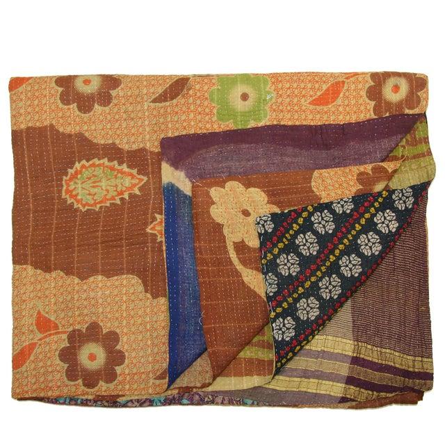 Image of Vintage Kantha Quilt