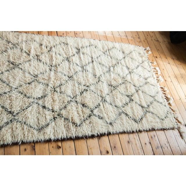 "Vintage Beni Ourain Moroccan Carpet - 5' X 7'8"" - Image 2 of 4"