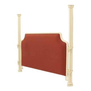White Poster Bed Headboard