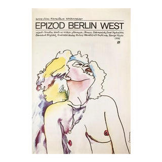 Epizod Berlin West 1986 Polish Movie Poster