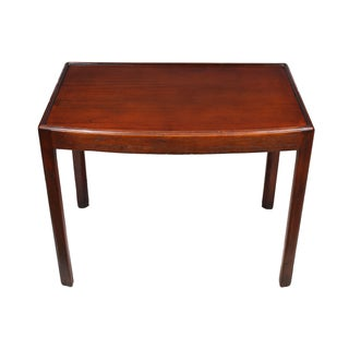 GT Rackstraw English Mahogany Side Table