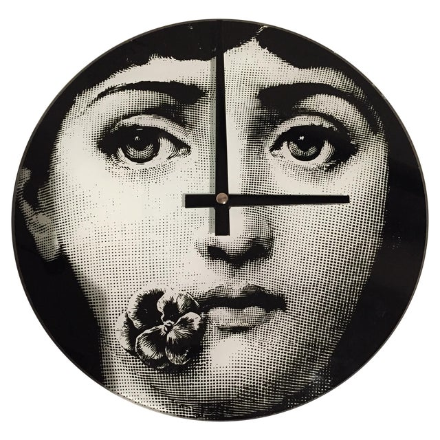 Image of Fornasetti Style Clock