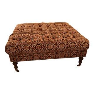 Edward Ferrell Upholstered Ottoman