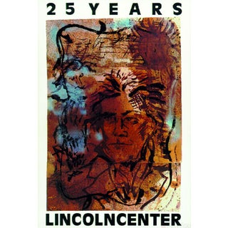 Julian Schnabel, 25 Years - Lincoln Center, 1984 Serigraph
