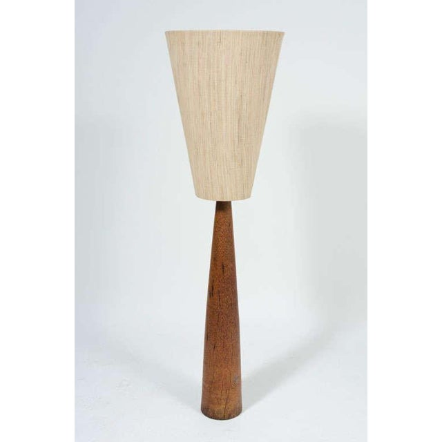 Fine American Inverted Cone Shade Amp Wenge Column Floor