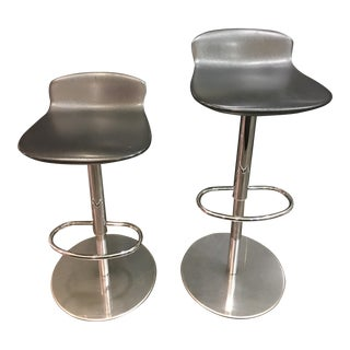 Room & Board Leo Swivel Stools - A Pair