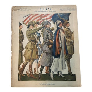 1919 Life Magazine Wartime Cover