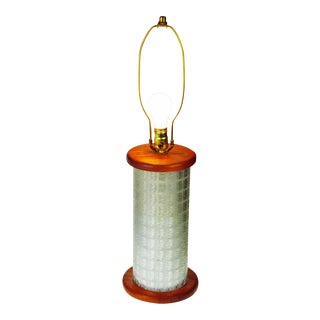 Gold Bond Stamps Roller Table Lamp