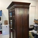 Image of Antique Mirrored Door Armoire
