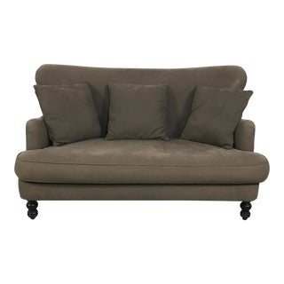 Cisco Brothers Curved Loveseat Sofa