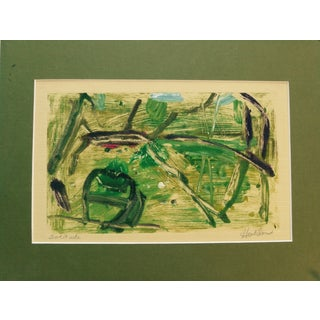 Martha Holden Solitude Monotype