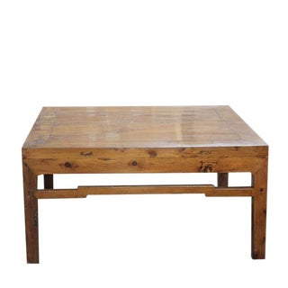 Antique Cypress Coffee Table