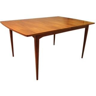 Mid-Century Kipp Stewart Walnut Surfboard Table