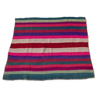 "Peruvian Wool Frazada Throw -- 5'2"" x 6'1"""