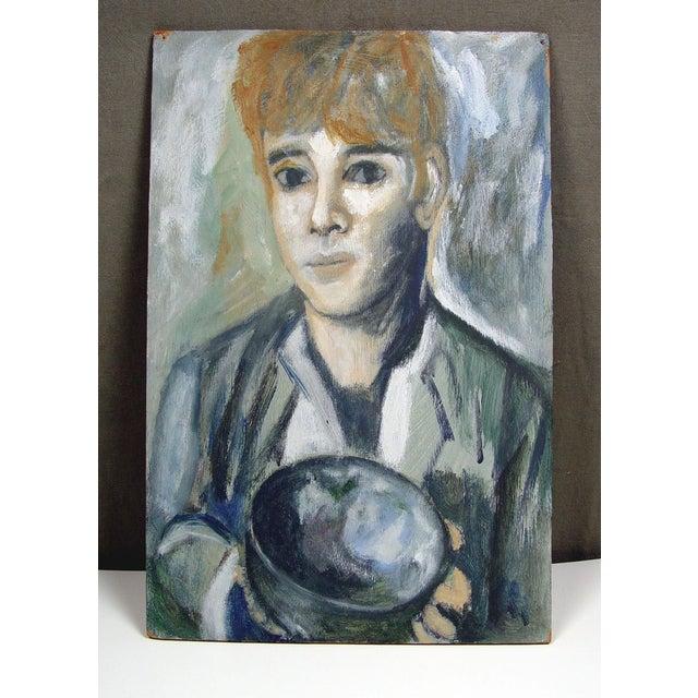 Mid-Century Modern Portrait - Image 2 of 2
