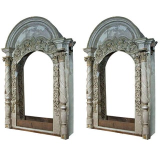 Architectural Elements Arched Doors - A Pair