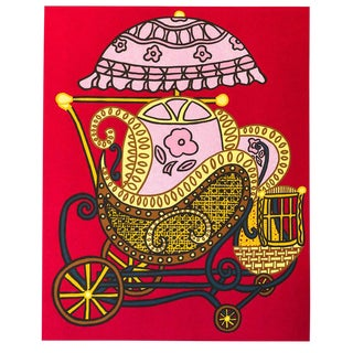 """William Nelson Copley """"Baby Buggy"""" Serigraph"""