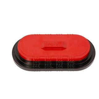 Chinese Red & Black Jewelry Box