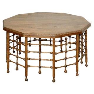 JW Custom 10 sided Stick and Ball Coffee Table