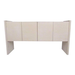 Mid-Century Lacquered Lucite Credenza by Milo Baughman
