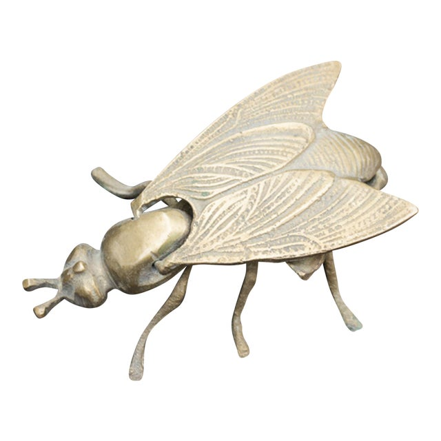 Vintage Brass Bee Ashtray - Image 1 of 4