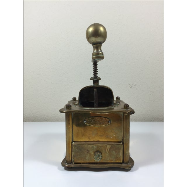Victoria Kaveorlo Antique Coffee Grinder - Image 4 of 6