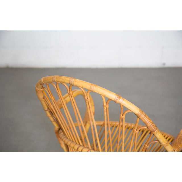 Rohe Noordwolde Bamboo Hoop Chair With Arms - Image 6 of 10