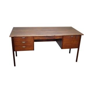 Vintage Danish Modern Teak Writing Desk