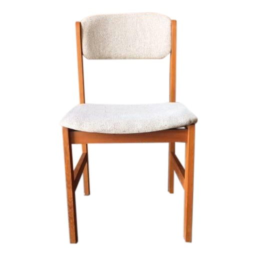 Vintage Danish Style Teak Dining Chair - Image 1 of 5
