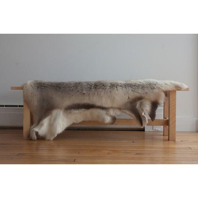 Luxurious Reindeer Fur Throw - Image 4 of 4