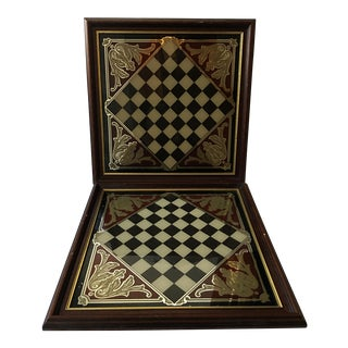 Mirrored Chess Boards - A Pair