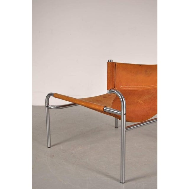 "Lounge Chair ""sz12"" by Walter Antonis for Spectrum, Netherlands, circa 1970 - Image 6 of 9"