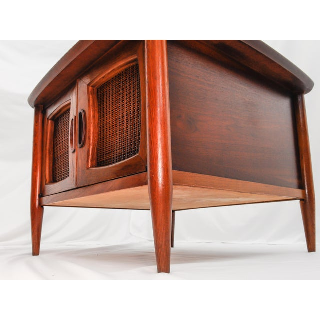 Used Lane Coffee Table: Lane Mid Century Modern Square End Table