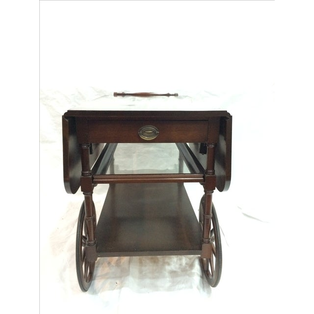 Image of Walter of Wabash Drop-Leaf Bar Cart