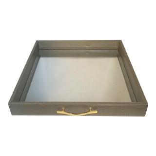 Shagreen Mirror Tray