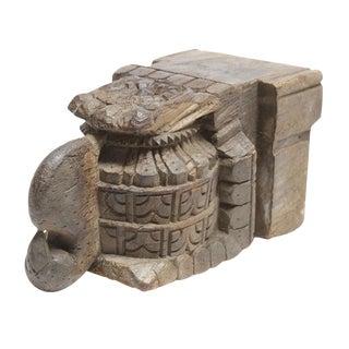 Antique Carved Corbel