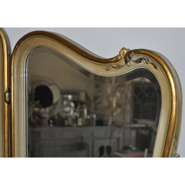 Vintage 1920s French Louis XV Style Vanity - Image 8 of 11