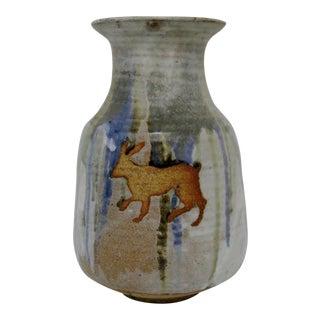 Artisan Earthenware Vase