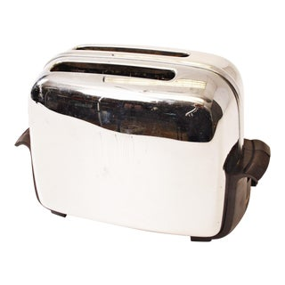 Vintage Chrome Toastmaster Toaster with Bakelite Handles