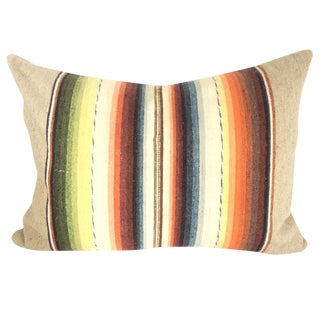 Sun Washed Sand Colored Vintage Pillow