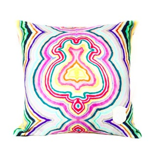 Funky Agate Pillow